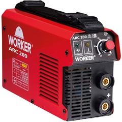 Máquina Inversora para Solda Arc 200a 220v Vermelha - Worker