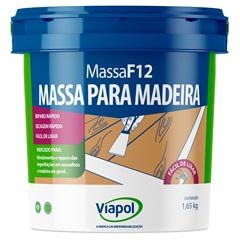 Massa para Madeira F-12 Fusecolor Branca 900 Ml 169  - Fusecolor