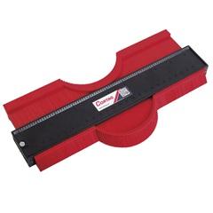 Medidor de Contorno 10''- 250 Mm Vermelho E Preto - Cortag