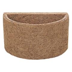Meio Vaso em Fibra de Côco 13x8cm Natural - Agrofor