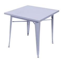 Mesa de Jantar Titan 80x80cm Cinza - Ór Design