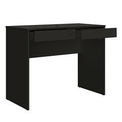 Mesa Escrivaninha em Mdp com 2 Gavetas 79,5x100cm Preta - Multivisão