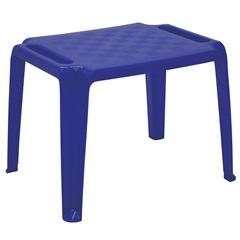 Mesa Infantil em Polipropileno Dona Chica 49,5x63,5x46cm Azul - Tramontina