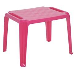 Mesa Infantil em Polipropileno Dona Chica 49,5x63,5x46cm Rosa - Tramontina