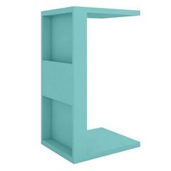 Mesa Lateral em Mdp Book 68x38,5cm Acqua - Líder Design