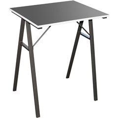 Mesa para Escritório 60x48cm Preta - Casanova