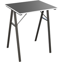 Mesa para Escritório Laminada 60x48cm Preta - Casanova