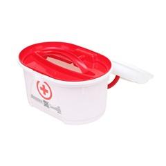 Mini Box Farmácia 4760 Branco E Vermelho - Plasútil