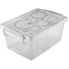 Mini Organizador com Alça 19,7x11,8cm Branco - Ordene