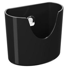 Mini Organizador com Ventosa Preto  - Coza