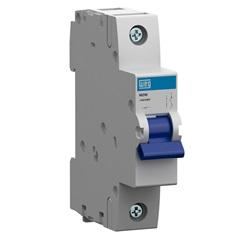 Minidisjuntor Termomagnético Mdw Din Curva C 10a 1p - WEG