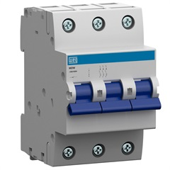 Minidisjuntor Termomagnético Mdw Din Curva C 10a 3p - WEG