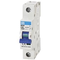 Minidisjuntor Termomagnético Mdw Din Curva C 16a 1p - WEG