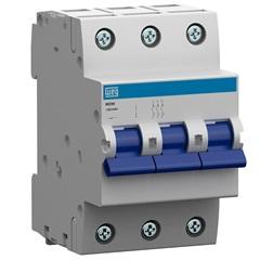 Minidisjuntor Termomagnético Mdw Din Curva C 25a 3p - WEG