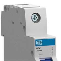 Minidisjuntor Termomagnético Mdw Din Curva C 40a 1p - WEG