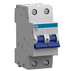 Minidisjuntor Termomagnético Mdw Din Curva C 50a 2p - WEG