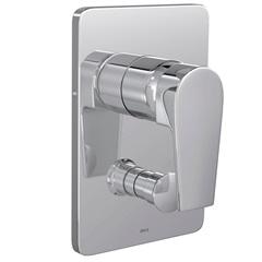 Misturador Monocomando 4 Vias para Chuveiro com Desviador para Banheira Level Cromado - Deca