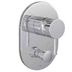 Misturador Monocomando 4 Vias para Chuveiro com Desviador para Banheira Link Cromado - Deca