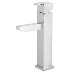 Misturador Monocomando para Banheiro de Balcão 2876 C215 Quadra Cromado - Meber