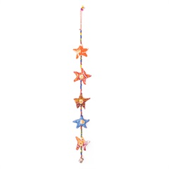 Móbile Estrela Colorido com 5 Peças - Casa Etna