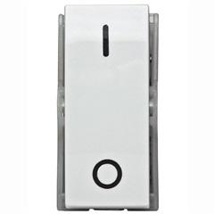 Módulo de Interruptor Bipolar Simples 10a 250v Duale Up Branco - Iriel
