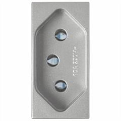 Módulo de Tomada 20a 250v Delta Alumínio - Siemens