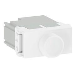 Módulo Dimmer Rotativo 300w 127v Refinatto Branco - WEG