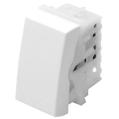 Módulo Interruptor Intermediário Modulare 10a 250v Branco - Fame