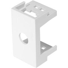 Módulo Saída de Fio de 10mm Modulare Branco com 2 Peças - Fame