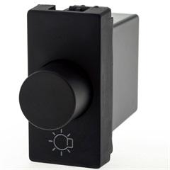 Módulo Variador Rotativo para Lâmpada Incandescente 300/600w Bivolt Plusmais Preto - Pial Legrand