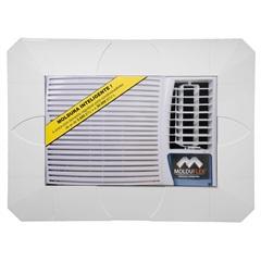 Moldura Regulável para Ar-Condicionado Cinza - Molduflex