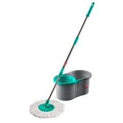 Mop Giratório com Balde Noviça 12 Litros Prata E Verde - Bettanin