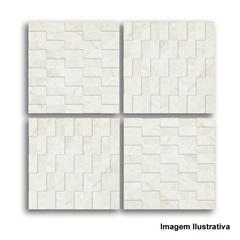 Mosaico 30x30 Mármore Egeu Tredi Peça - Biancogres