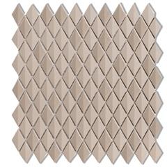 Mosaico Acetinado Prosa Diamond Beige 29,6x30,9cm com 1 Peça - Portinari