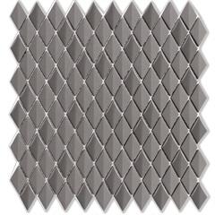 Mosaico Acetinado Prosa Diamond Dark Grey 29,6x30,9cm com 1 Peça - Portinari