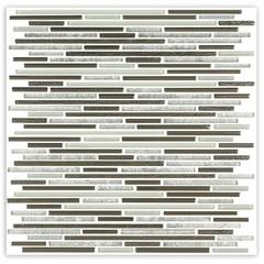 Mosaico Borda Bold Blend Line Bege 30x30cm com 1 Peça - Portinari