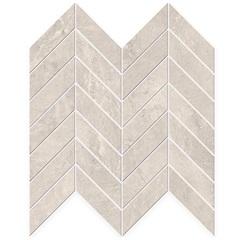 Mosaico Esmaltado Geographic Off White 20x58,4cm - Portinari