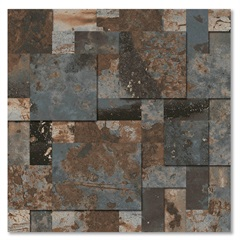 Mosaico Esmaltado Oxy Tredi 30x30cm com 1 Peça - Biancogres