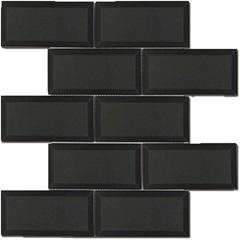 Mosaico Esmaltado Prosa Brick Black 29,8x29,8cm com 1 Peça - Portinari