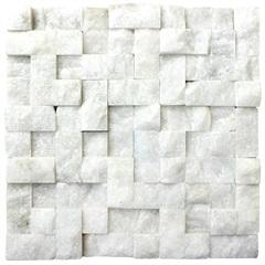 Mosaico Ma Bco Div.Rus.Mos12 30x30vdecor - Villas Deccor