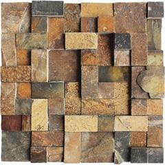 Mosaico Pedra Fer.Div.Ms 03 30x30vdecor - Villas Deccor