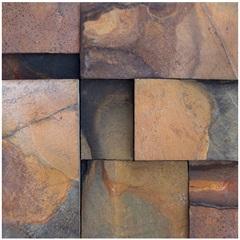 Mosaico Pedra Natural Ferrugem Mp 4043 Marrom 30x30cm - Casanova