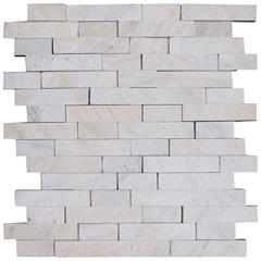 Mosaico Pedra Natural São Tomé Mp 2080 Branco 30x30cm