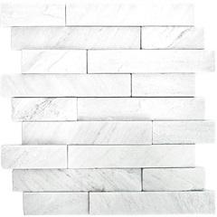 Mosaico Pedra Natural São Tomé Mp 3080 Branco 30x30cm - Casanova