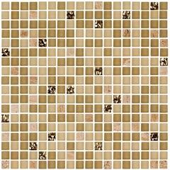 Mosaico Polido Borda Bold Blend Nude 30x30cm com 1 Peça - Portinari