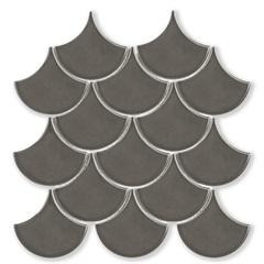 Mosaico Ritmos Dgr Cinza Escuro 25,9x27,3cm com 1 Peça - Portinari