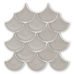 Mosaico Ritmos Gr Cinza 25,9x27,3cm - Portinari