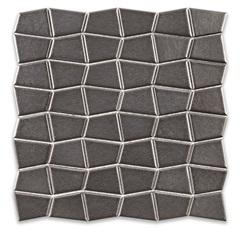 Mosaico Ritmos Metal Gr Cinza 30,5x30,5cm - Portinari