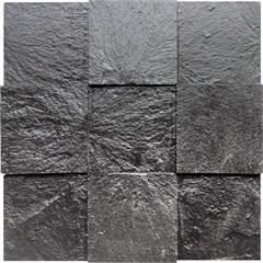 Mosaico Xadrez Pto Abs.Ms 25 30x30vdecor - Villas Deccor