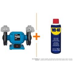 Moto Esmeril de Bancada 350w Bivolt Azul - Gamma